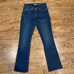Signature Levi Strauss & Co Curvy Bootcut Jeans